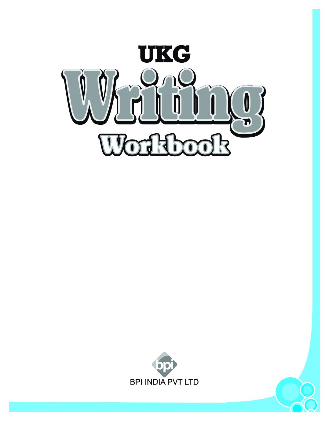 Download Ukg Writing Workbook By Bpi Online