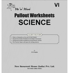 Download CBSE Class 6 Science Me n Mine Pullout Worksheets PDF Online 2020 [ 1408 x 1108 Pixel ]