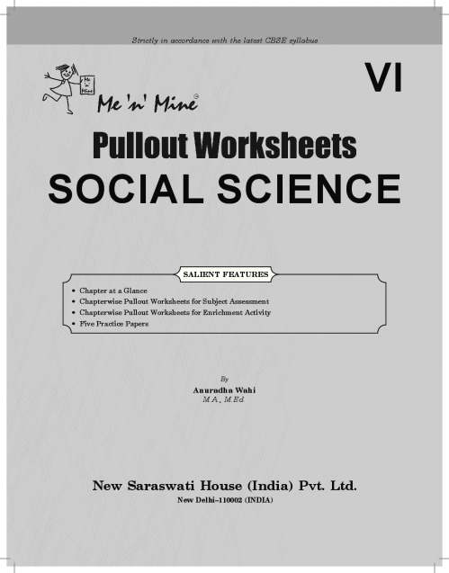 small resolution of Download Saraswati Me n Mine CBSE Class - 6 Pullout Worksheets Social  Science (New Edition) PDF Online