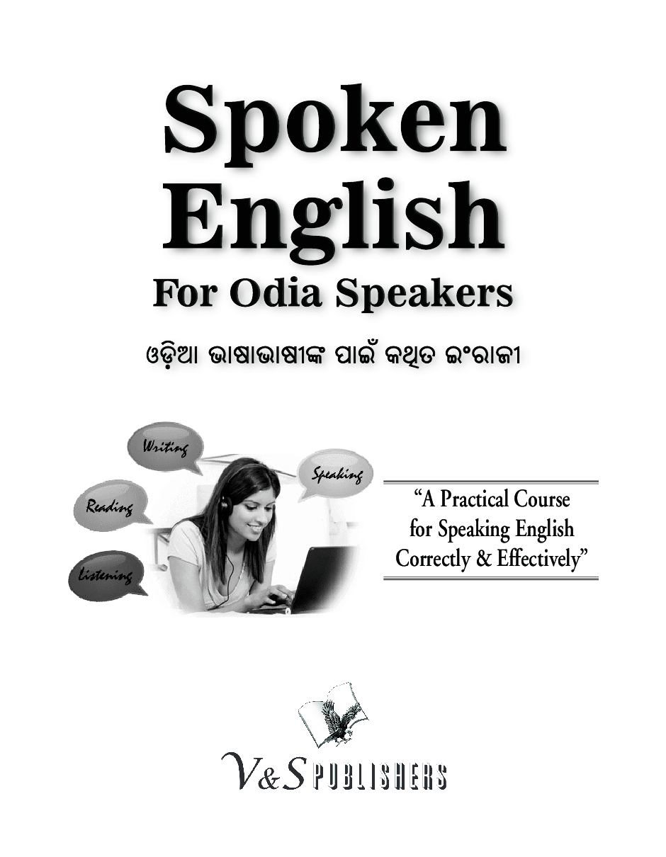 Download Spoken English For Odia Speakers by Editorial