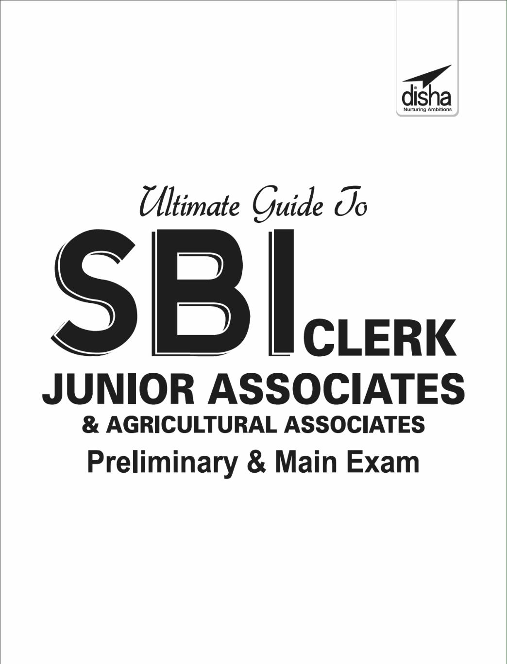 Download Ultimate Guide To SBI Clerk Junior Associates