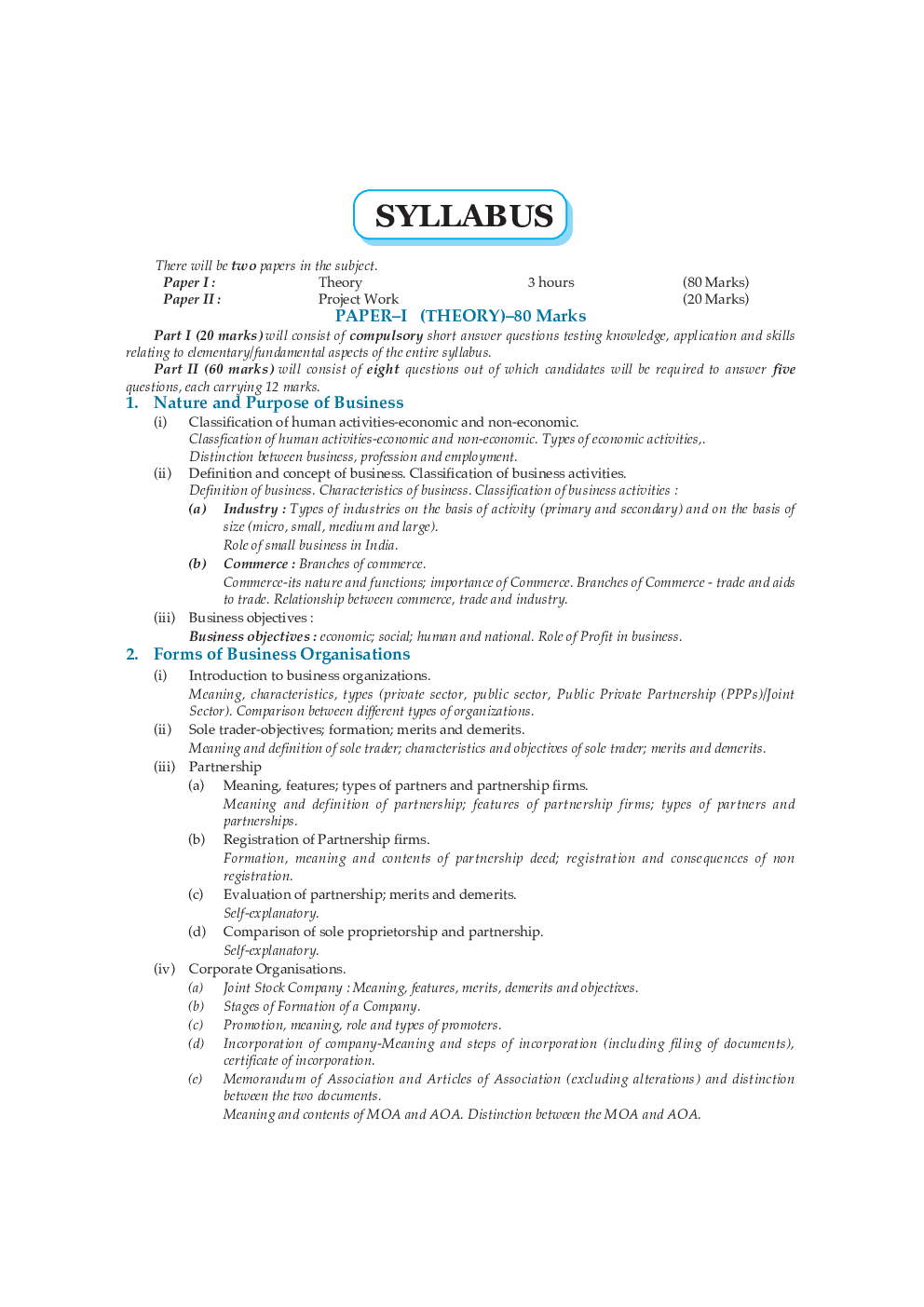 Download Oswal ISC Concept Of Commerce For Class XI (For