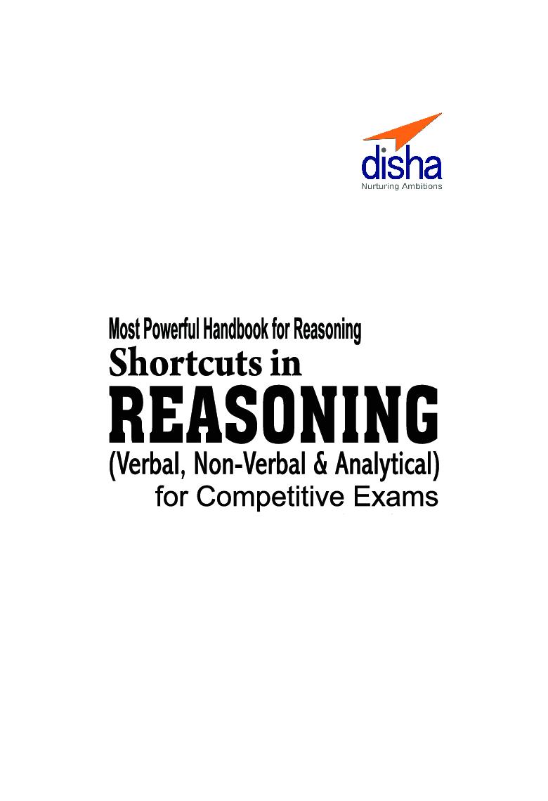 Download Shortcuts In Reasoning (Verbal, Non-Verbal