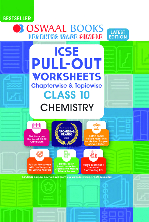 small resolution of Download Oswaal ICSE Class-10 Chemistry Pullout Worksheets PDF Online-2021