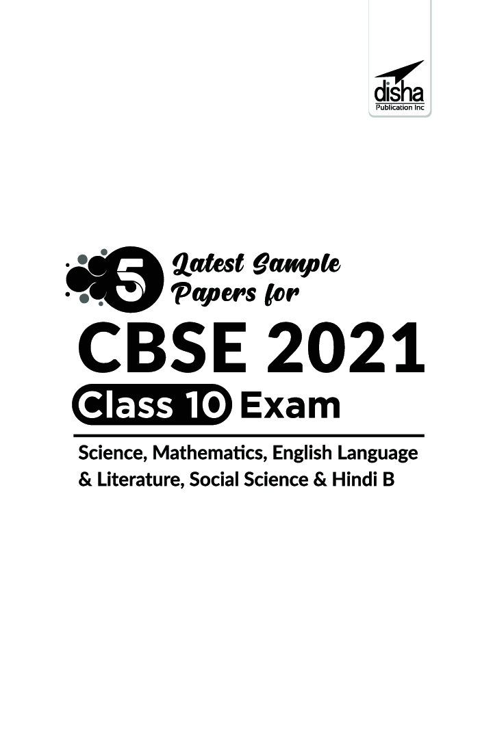 Download 5 Latest Sample Papers For CBSE 2021 Class 10
