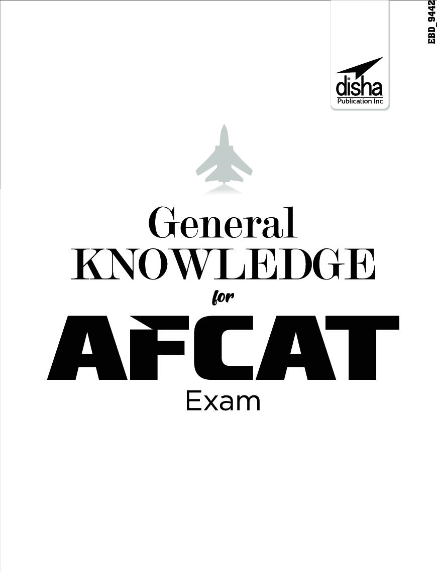 Download General Knowledge For AFCAT Exam PDF Online 2021