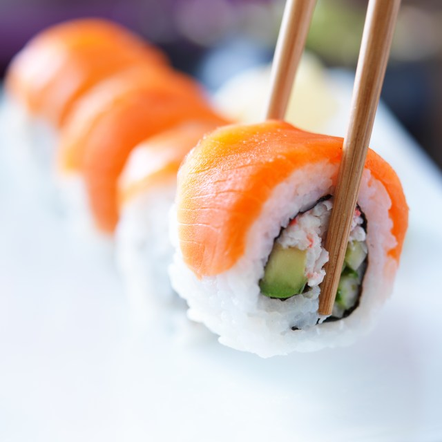 Image result for Dangerous parasite showing up in sushi and raw fish