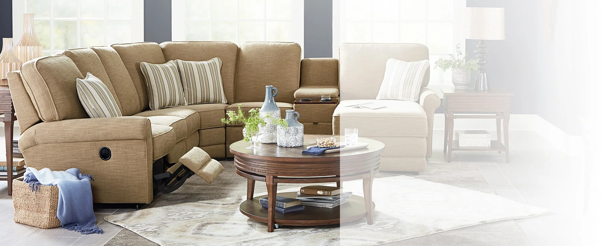 white leather sectional sofa with recliner ikea reviews sofas couches la z boy reclining sectionals