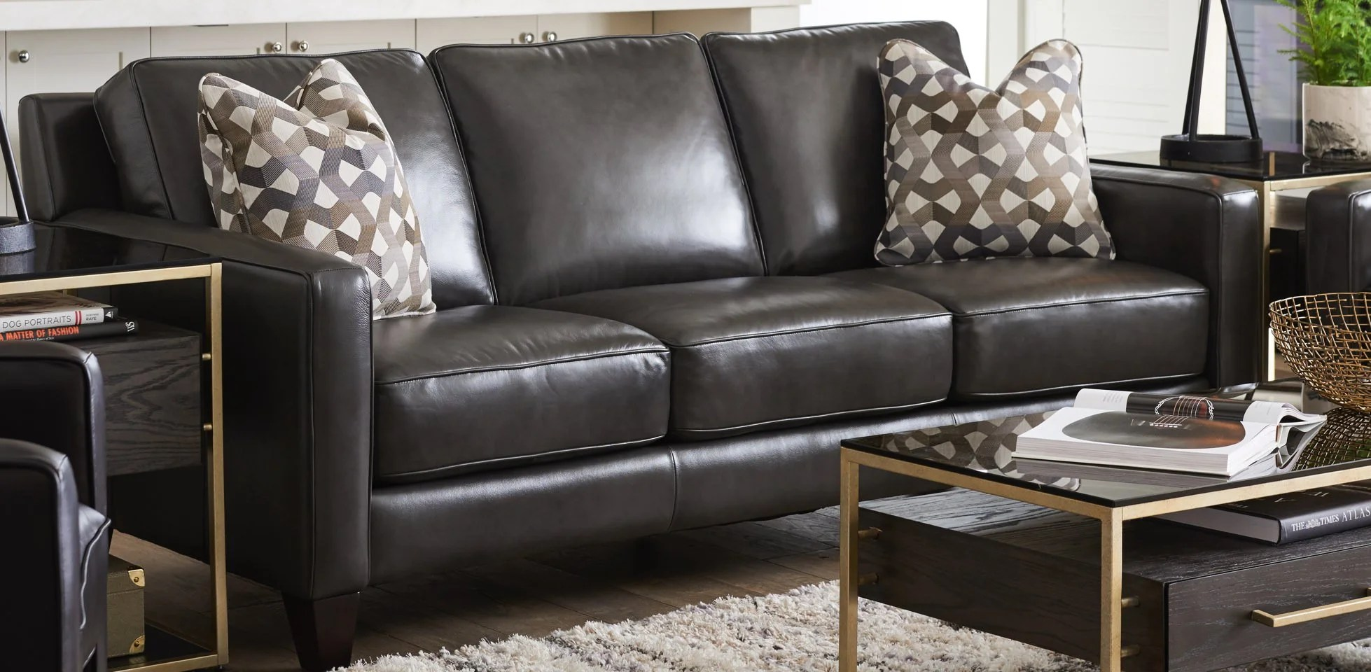 lazy boy leather living room furniture decor ideas images there s nothing quite like la z with meyer sofa