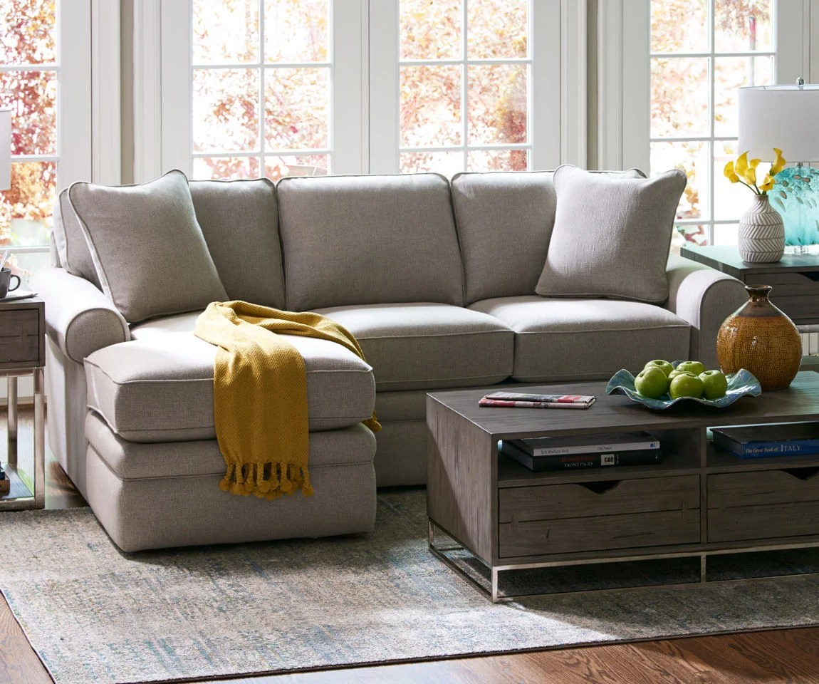 small sectional living room furniture best deals sectionals la z boy scene with collins