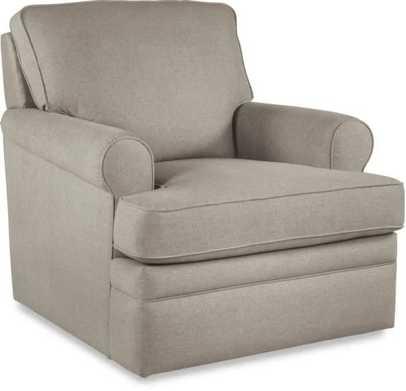lazy boy glider rocking chair queen anne slipcover nursery la z roxie swivel gliding