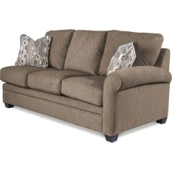 Cream Sofa Arm Covers Modern Sofas Leather Natalie Premier Left-arm Sitting Queen Sleep