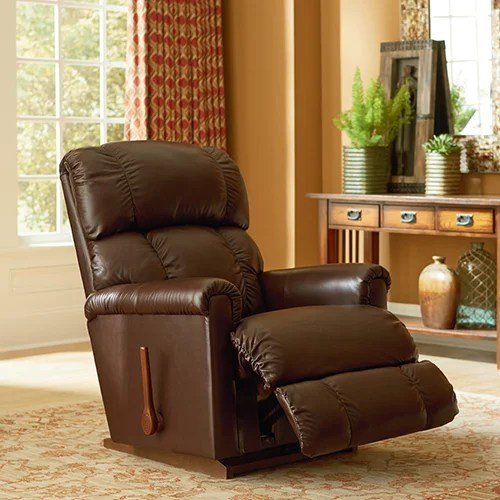 lazy boy leather living room furniture the lounge indianapolis pinnacle rocking recliner product thumbnail