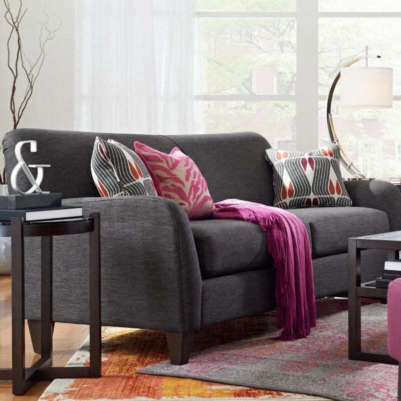 mackenzie sofa semi circle leather dolce premier