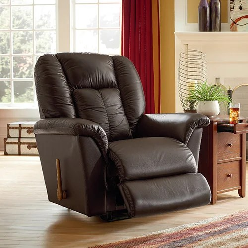 lazy boy lift chairs leather ikea antilop high chair tray jasper reclina-rocker® recliner