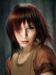 hot color blocked hair ideas