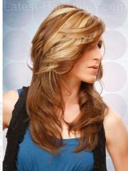 lovely long shag hairstyle ideas