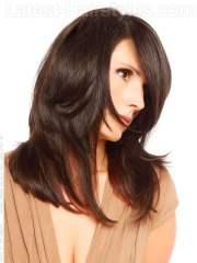 flattering hairstyles long