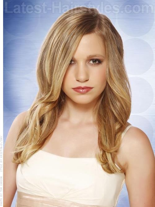 Tousled Tresses Long Messy Easy Prom Hairstyles