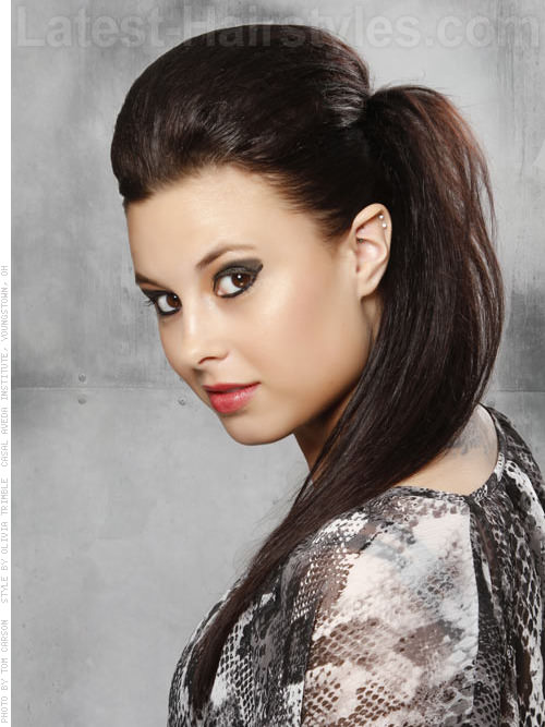 30 Edgy Ponytail Hairstyles Hairstyles Ideas Walk The Falls