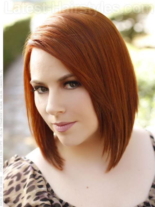 The 20 Most Flattering Bob Hairstyles For Round Faces