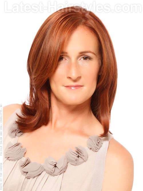 Soft Cinnamon Red Hair