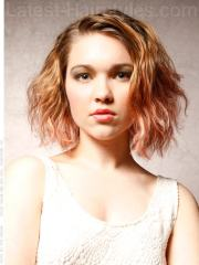 awesome wavy bob hairstyles