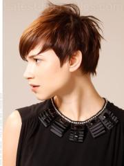 short haircuts thick hair