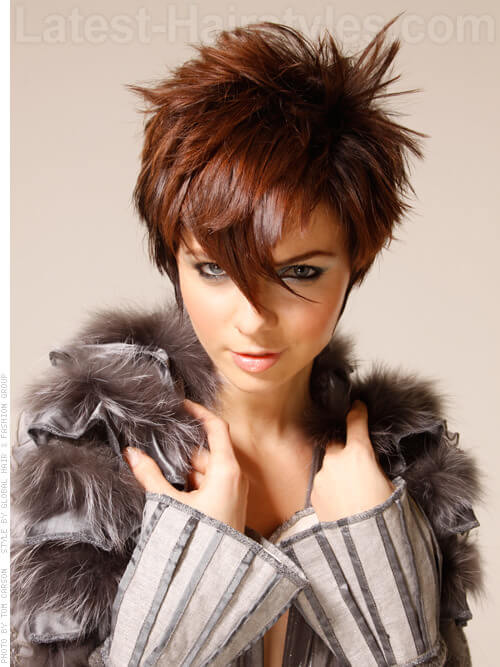 34 Greatest Short Haircuts And Hairstyles For Thick Hair