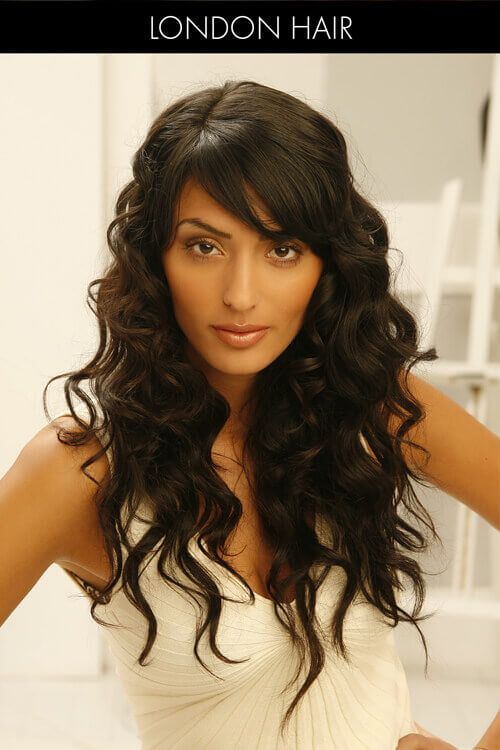 20 Hairstyles Thatll Make You Want Long Hair With Bangs