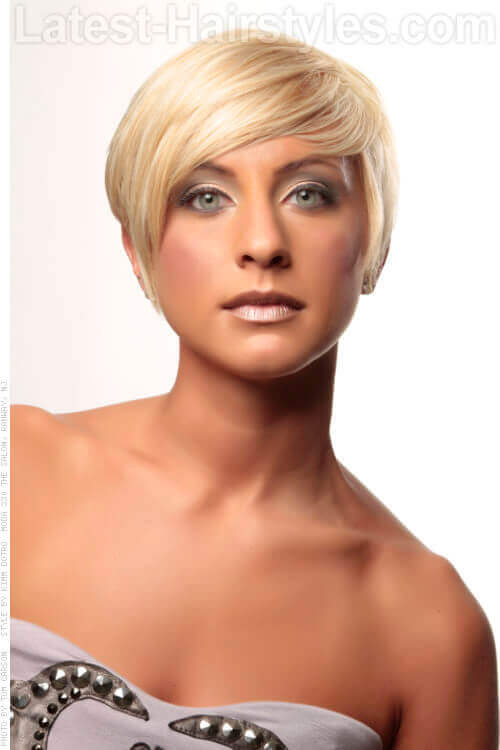 Asymmetrical Hairstyles For Fine Hair