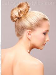 wedding updos buns hairstyles