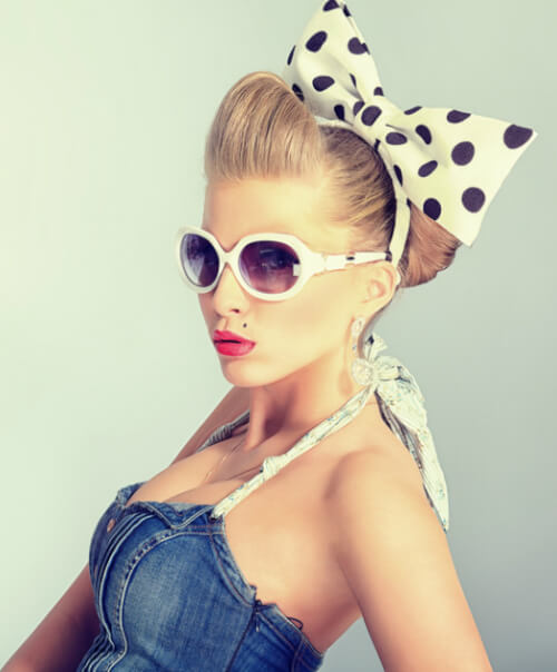 "30 Pin Up Hairstyles That Scream ""Retro Chic"" Tutorials Included"