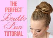 Double Bun Hair Tutorial