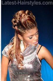 7 styles braid african