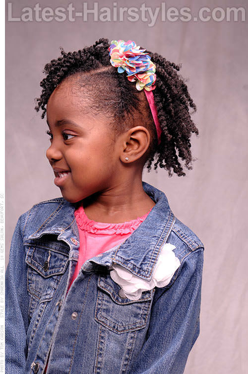 15 Stinkin' Cute Black Kid Hairstyles You Can Do At Home