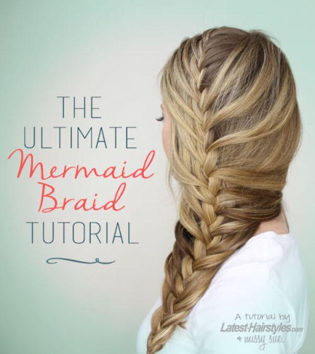 Ultimate Mermaid Braid Tutorial
