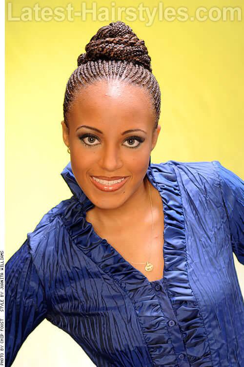 20 Stunning Updos For Black Women