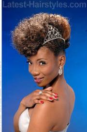 stunning updos black women