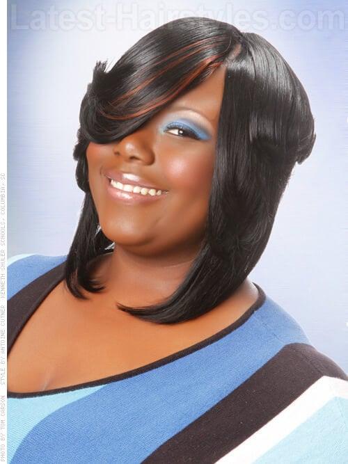 20 ShoulderLength Hairstyles for Black Women