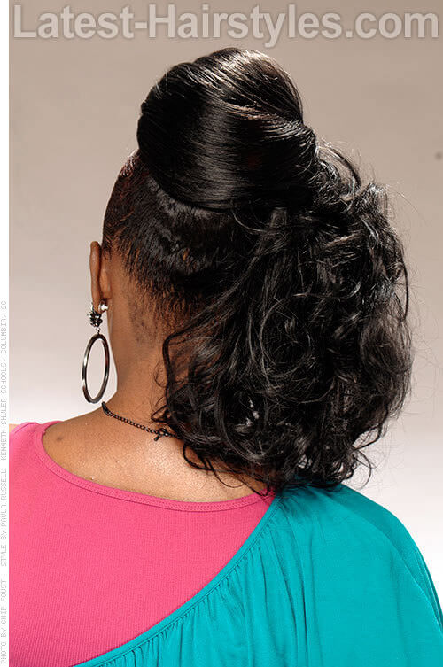 16 Side Swept Hairstyles For Black Women