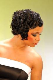evening hairstyles black