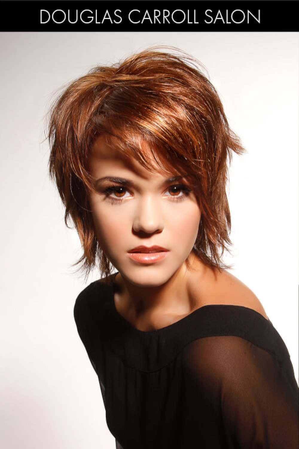 Short Hairstyle with Fringe and Texture