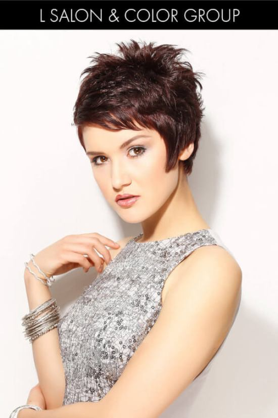 Cute Short Hairstyle for Spring with Texture