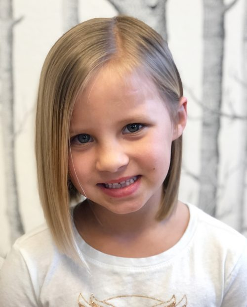 Little Girl Haircuts For Thick Hair : little, haircuts, thick, Cutest, Short, Hairstyles, Little, Girls