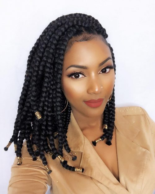 18 Hottest Jumbo Box Braids Hairstyles To Inspire You