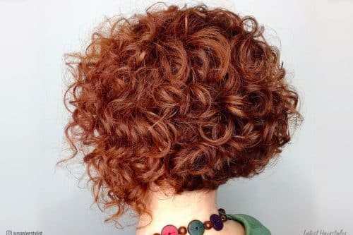 43 Hottest Curly Bob Hairstyles That Rock This Year