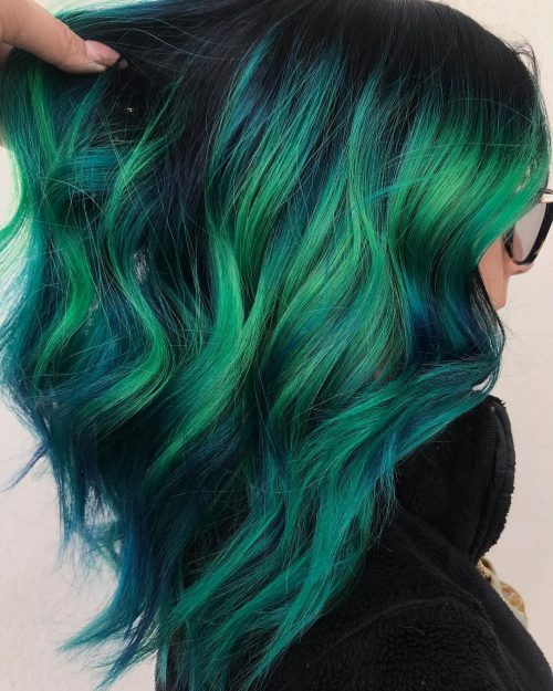 The 13 Hottest Mermaid Hair Color Ideas You Ll See In 2020