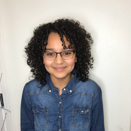 21 Easy Hairstyles For Girls With Curly Hair Little Girls Toddlers