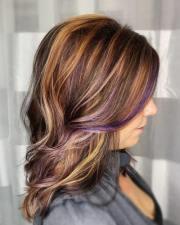 purple hair color ideas trending